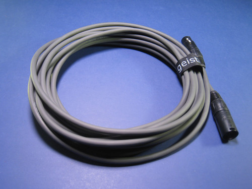 Geistnote's Gōst™ Series Tube Microphone Cable