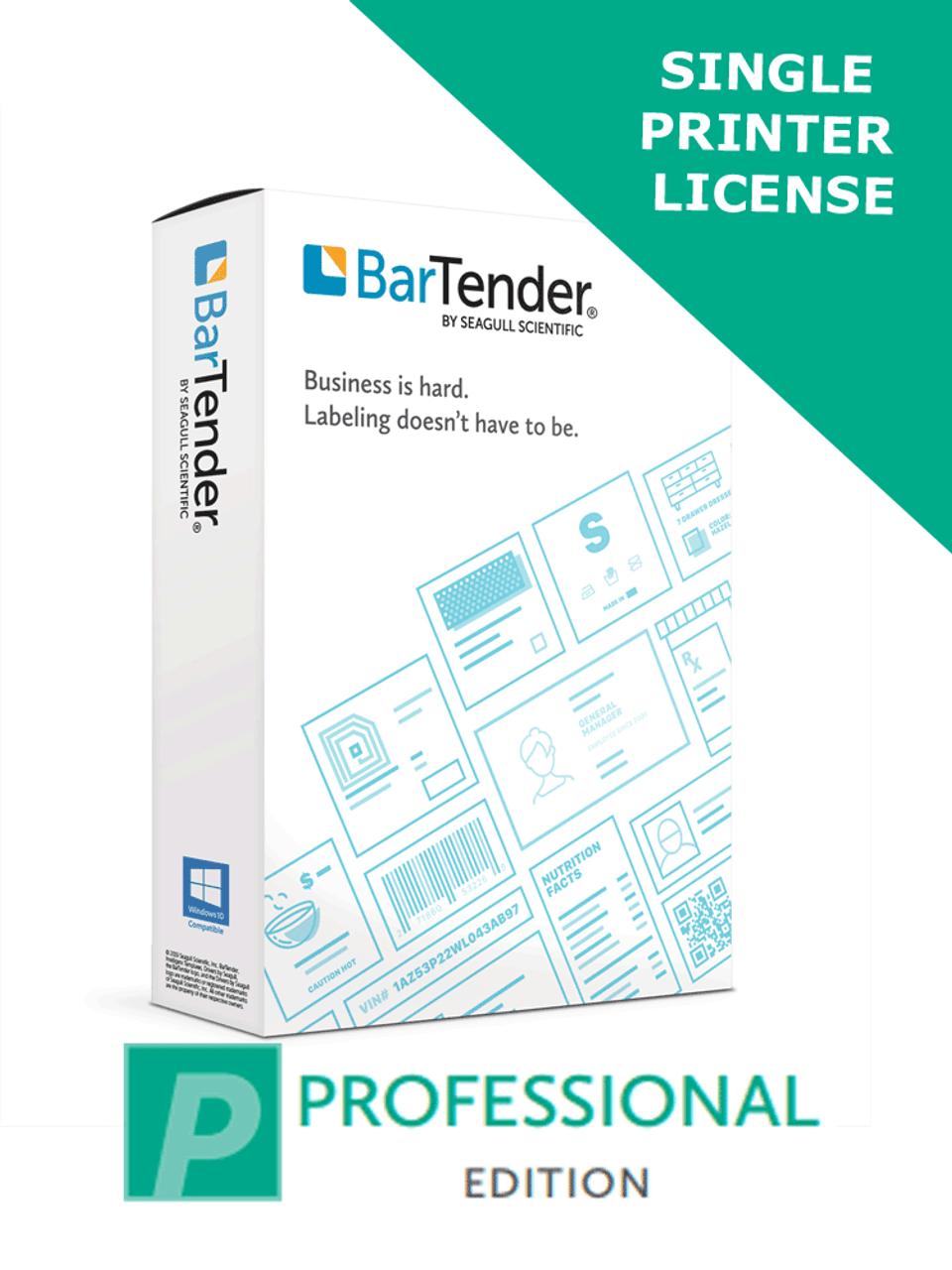 Bartender 2019 Single Printer License