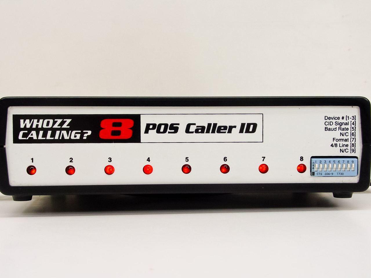 Whozz Caller ID 8 Line Basic & Deluxe