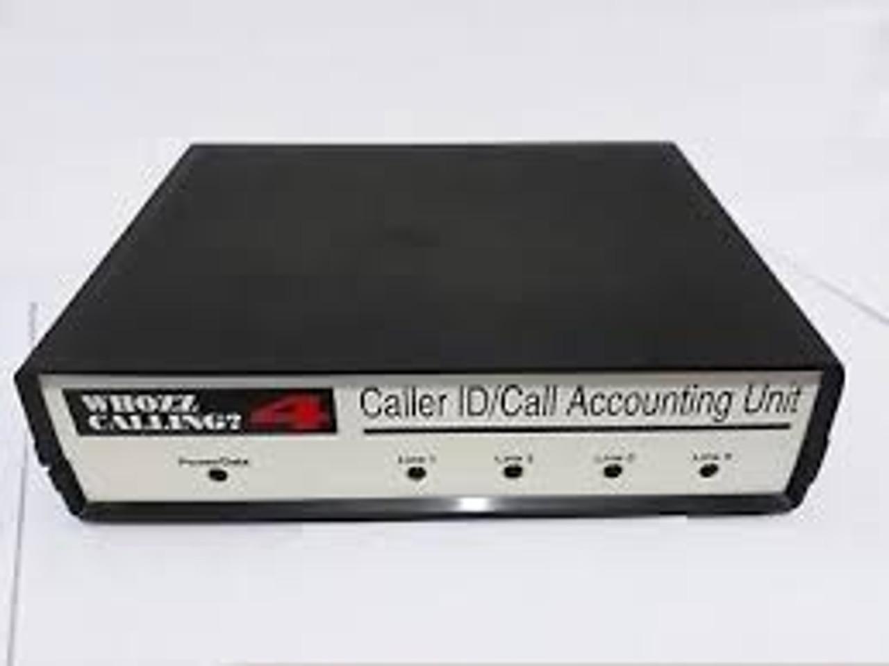 Whozz Caller ID 4 Line Basic & Deluxe