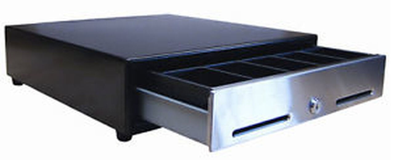 SP-103N-KSC Serial Cash Drawer with Media Slots