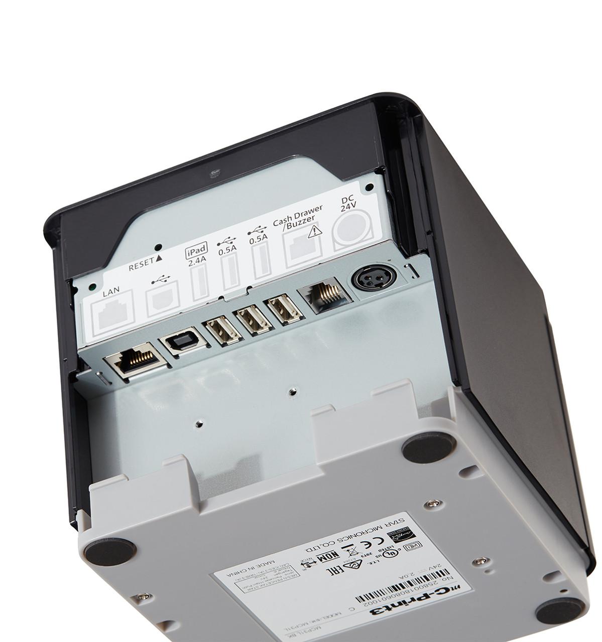 Star mC-Print3 Printer I/O Ports