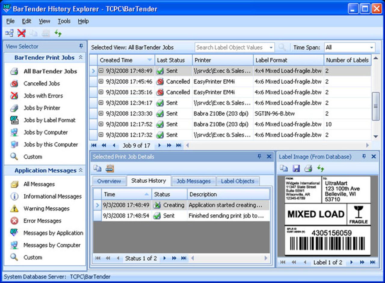 Seagull Scientific Bartender Barcode Label Software Pro Edition