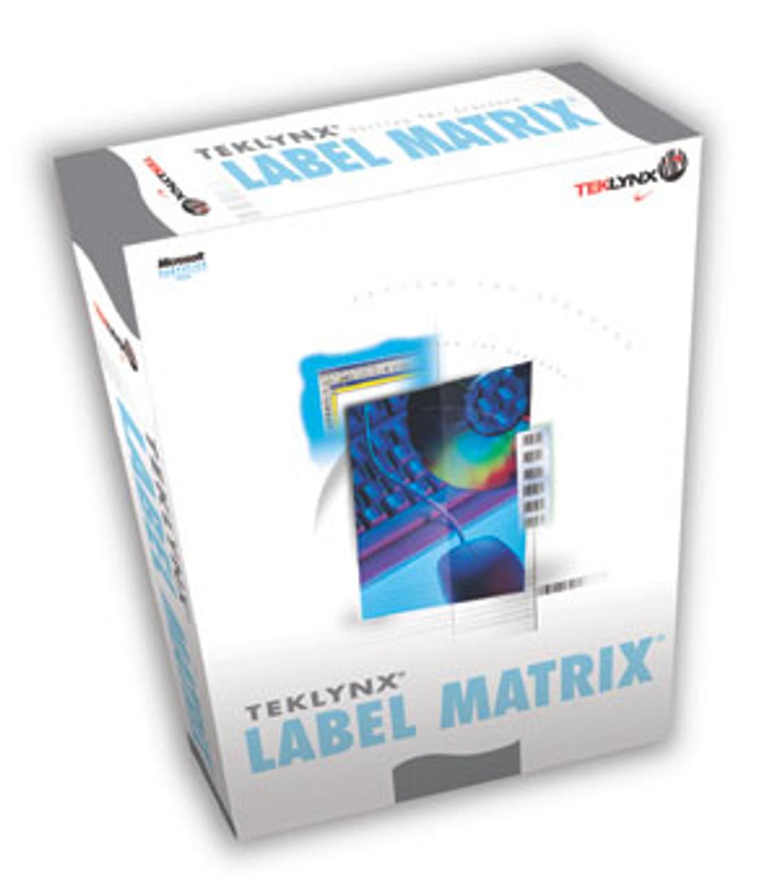 LABEL MATRIX QuickDraw Barcode Label Software