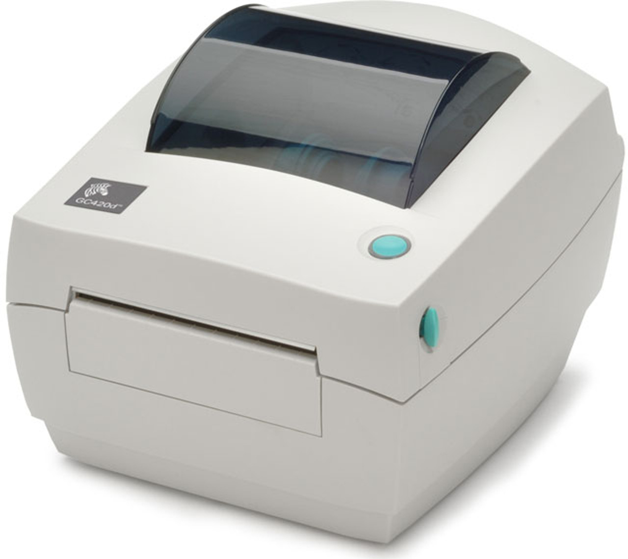 "Zebra GC420t 4""THERMAL TRANSFER POS Barcode Label Printer"