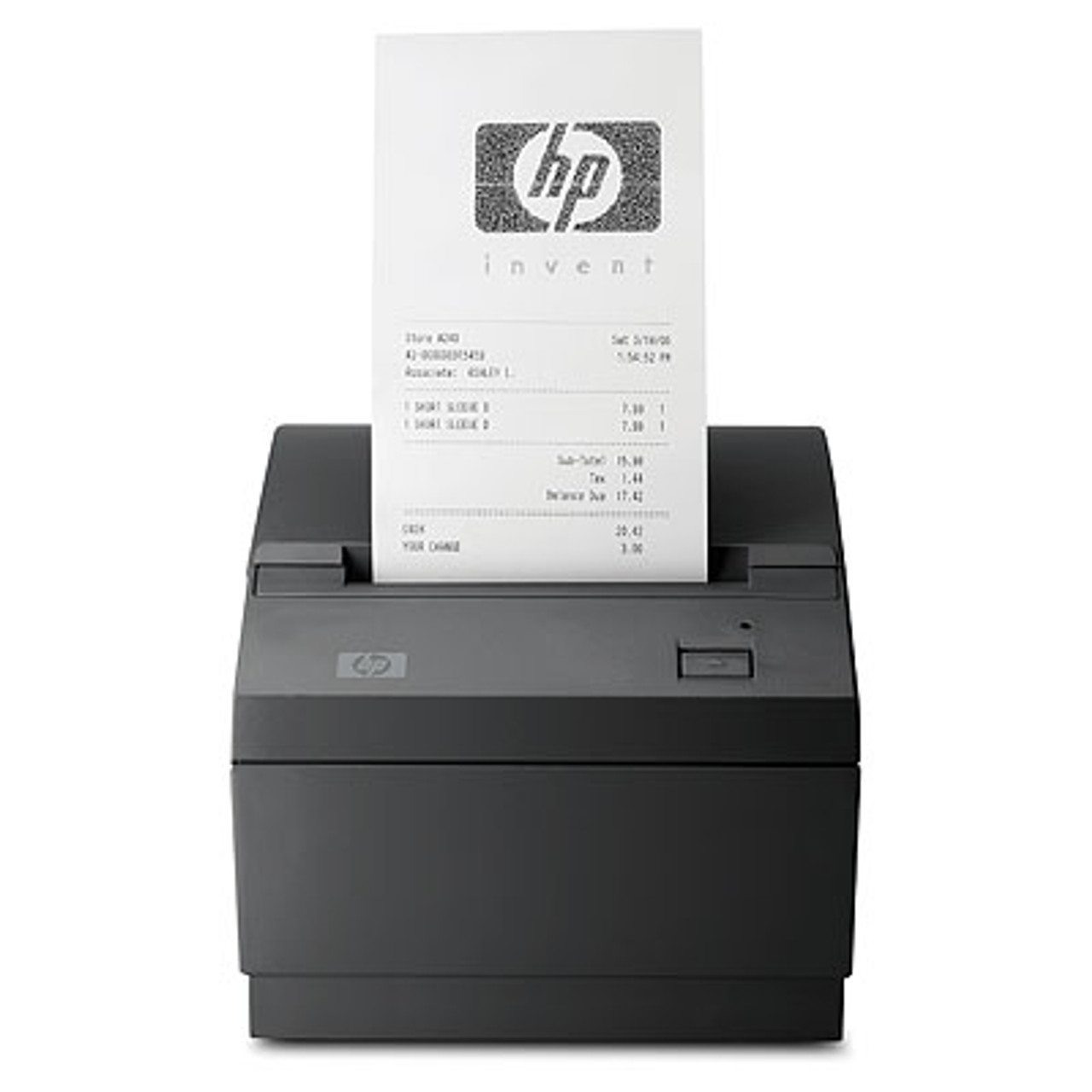 HP USB POS Thermal Receipt Printer With Cable, Black