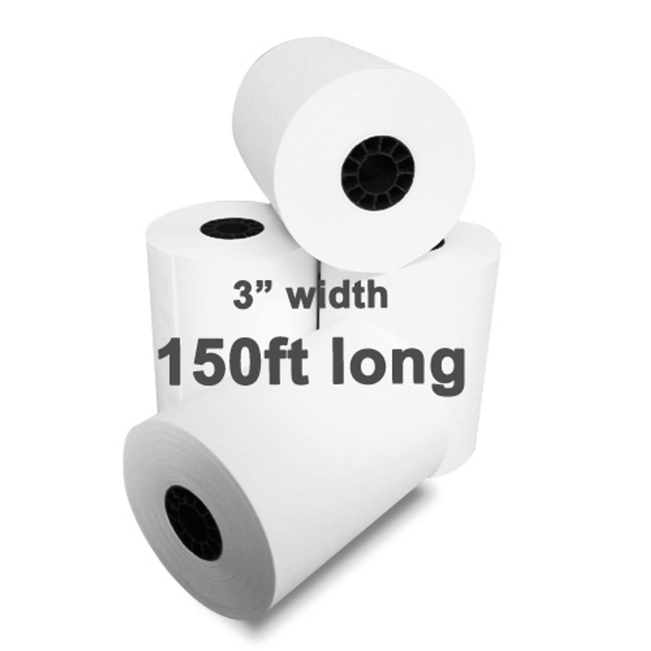 Plain Receipt Paper 3 Inch (76MM ) X 150 Feet