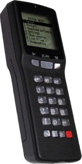 OPTICON 16MB BATCH SCANNER, H13 KIT, INCLUDES REPLACEMENT BATTERY (02-BATLION-14), 67-H13BAT001-01, CHARGING/COMMUNICATION CRADLE (CRDH13-01), AND SCANNER (H13-TRM-K01), H13-TRM-SK1