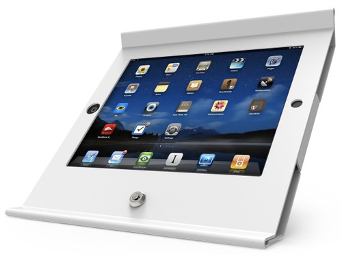 Maclocks, Slide Basic iPad POS Enclosure, White, 225POSW