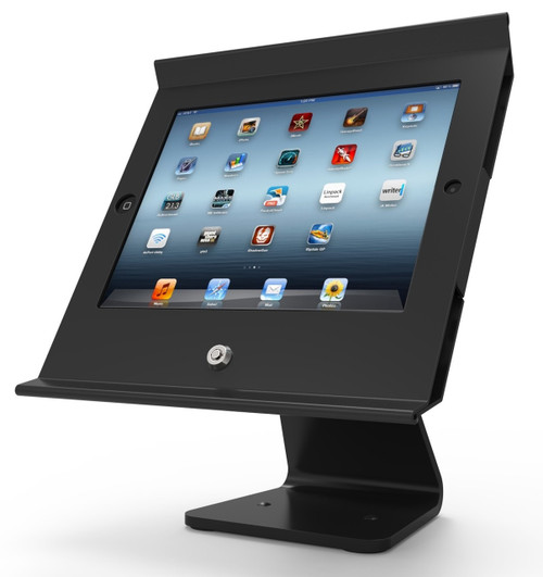 Maclocks, Slide Pro iPad POS Stand/Enclosure, Black, 303B255POSB