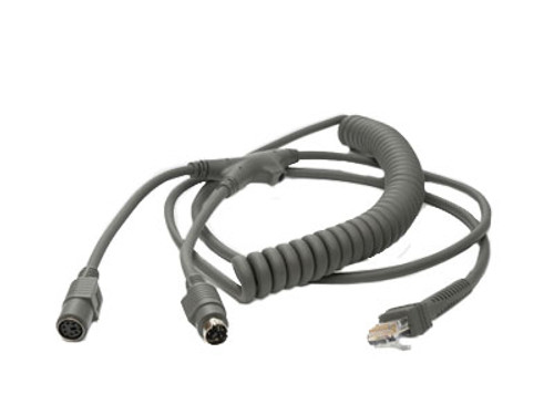 Motorola Symbol KBW 9 Feet Coiled Cable