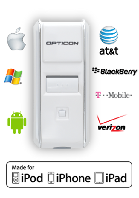 Opticon OPN-3002i iOS Mobile Scanner
