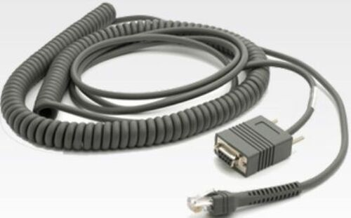 Motorola Symbol 9 Feet RS232 Serial Coiled Cable