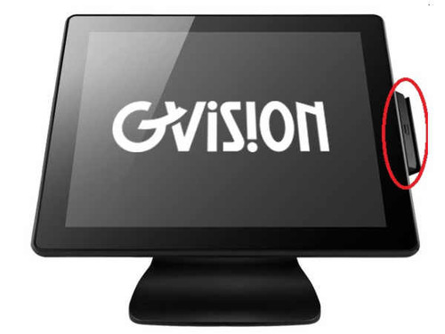 GVISION V15DX Series Touchscreen MSR. Does Not Include Touchscreen.