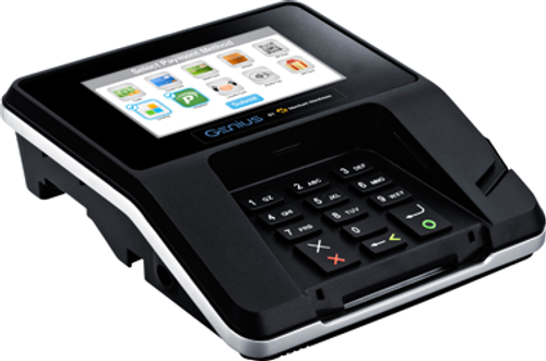 Merchant Warehouse Genius Credit Card Machine