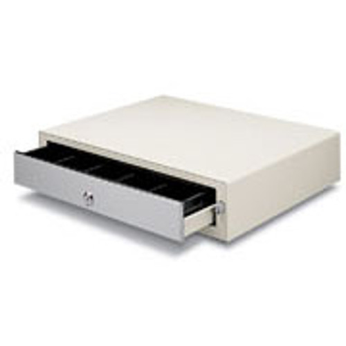MS Cash Drawer EP-125NKL, White, No Media Slots