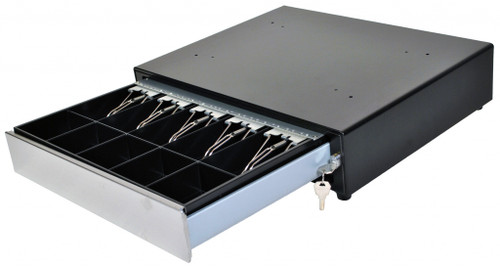 MS Cash Drawer, EP-125NKL USB Cash Drawer, Black