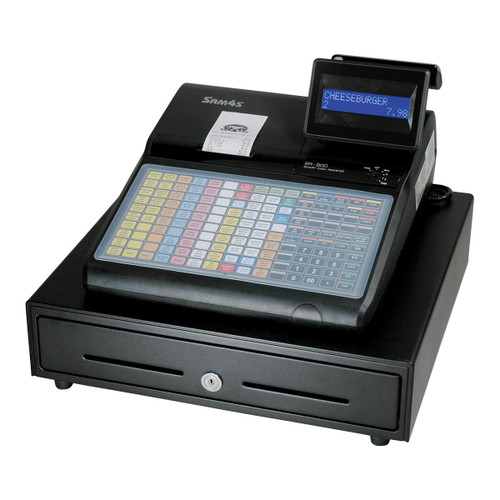 SAM4s ER-920, ER-940 Cash Registers with Flat Keyboard for Food Service