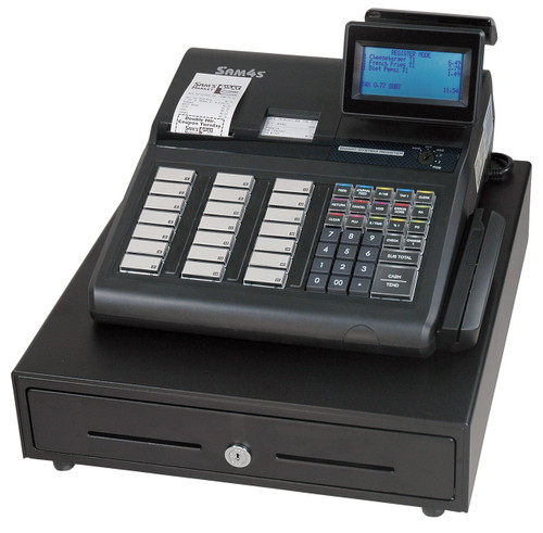 SAM4s SPS-345 Retail Cash Register *Shown with Optional MSR*