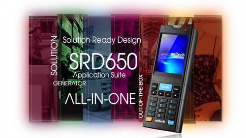 Unitech SRD650 Mobile Scanner Computer