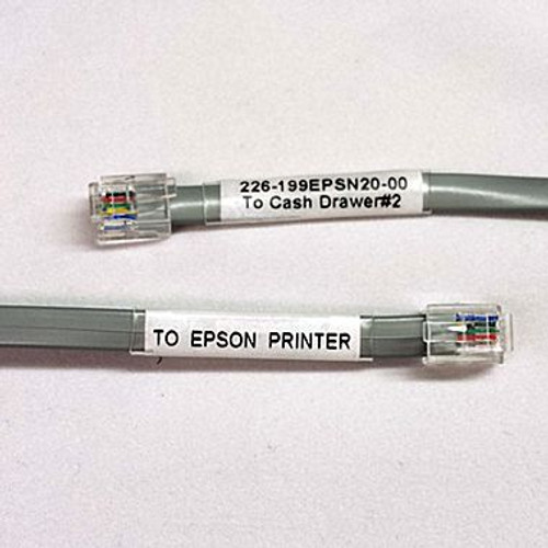 MMF Drawer #2 RJ Cash Drawer Cable, #226-199EPSN20-00