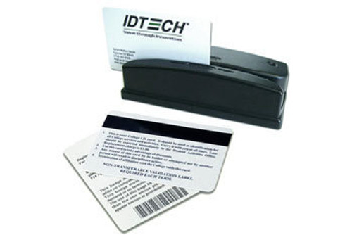 ID Tech Barcode Slot Reader, Serial