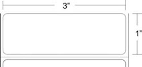 """111198200, 3"""" X 1"""" Epson Media Label"""