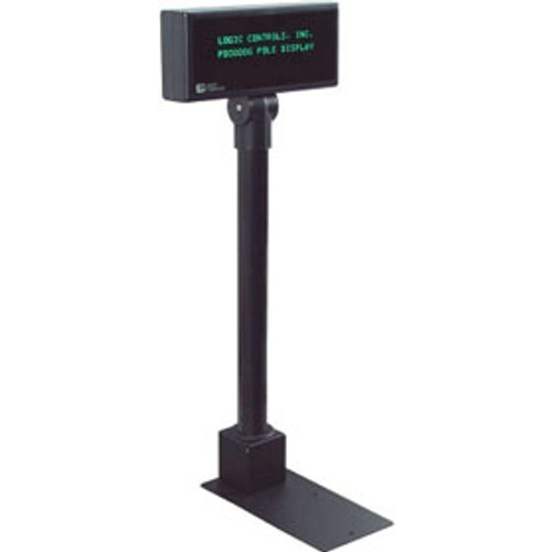 Logic Controls PD3000-BK Pole Display