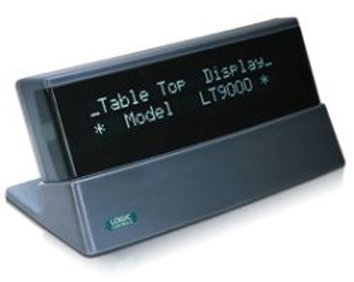 Logic Controls LTX9000U-GY USB Tabletop Customer POS Display