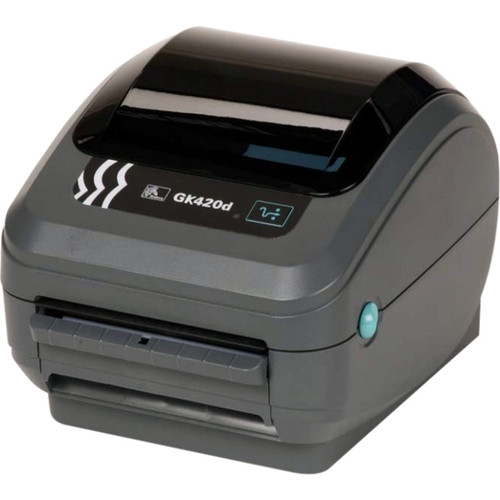 "Zebra GK420d 4"" DIRECT THERMAL POS Barcode Label Printer"