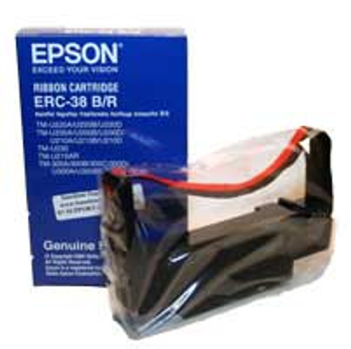 Epson Black and Red Receipt Printer Ribbon