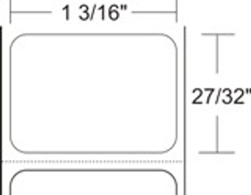 ZEBRA 10010037 BARCODE LABEL PAPER CONSUMABLES