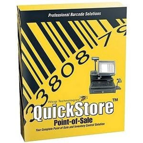Wasp POS Retail Software, Quickstore Standard