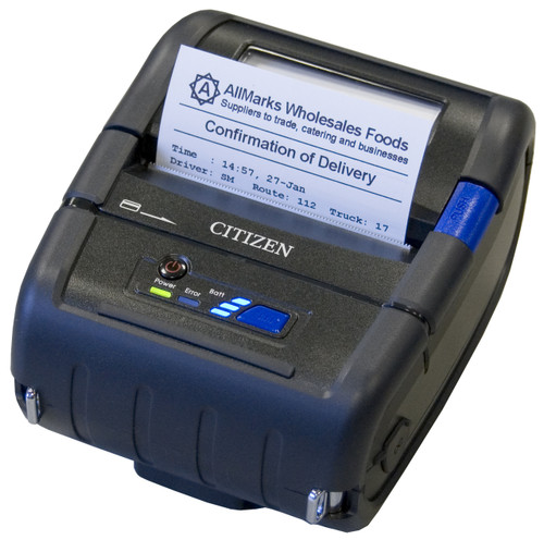 "Citizen 3"" POS Mobile Printer With MSR"