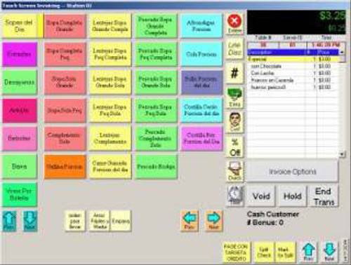 PC America Restaurant Pro Express (RPE) Software, PCA-LIC-PRO-CRE
