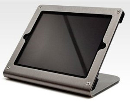 HECKLER DESIGN, WINDFALL C, GRAPHITE, SECURE POINT-OF-SALE STAND FOR IPAD 2, 3, 4, PIVOTTABLE AND PIVOTTACK SOLD SEPARATELY, HDWF1CGR