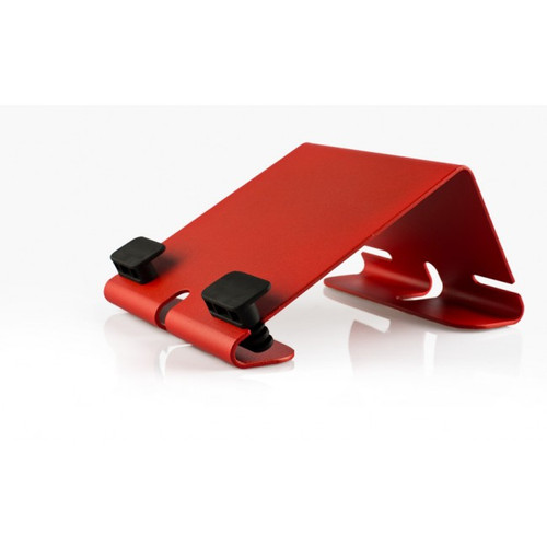 HECKLER DESIGN, @REST, IPAD STAND, BRIGHT RED, COMPATIBLE WITH 1ST GEN, IPAD 2 AND NEW IPAD, HDAR111BR