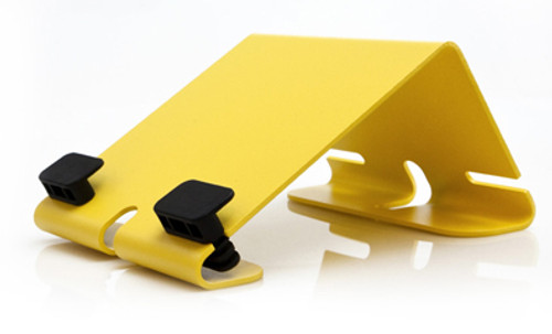 HECKLER DESIGN, @REST, IPAD STAND, BRIGHT YELLOW, COMPATIBLE WITH 1ST GEN, IPAD 2 AND NEW IPAD, HDAR111YW
