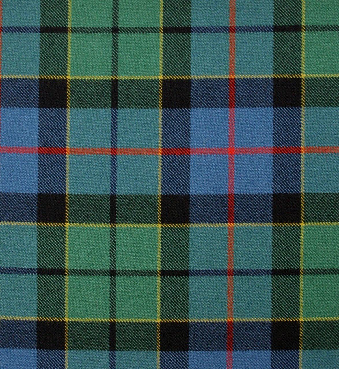 Tartan Tie Clan Forsyth Scottish Wool Plaid