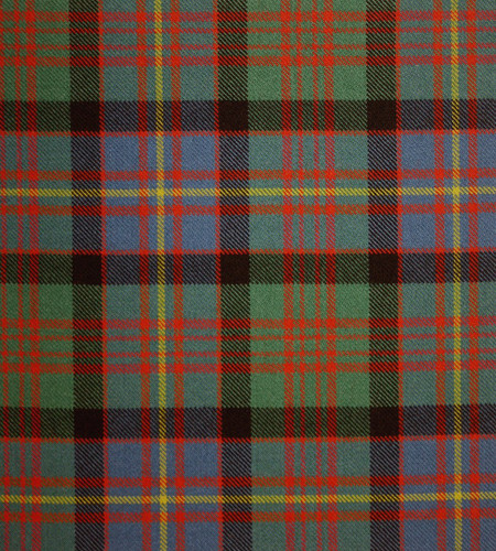 Cameron Of Erracht Ancient Heavy Weight Clan Family Tartan