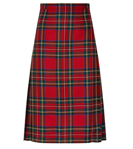 Ladies Tartan Skirt