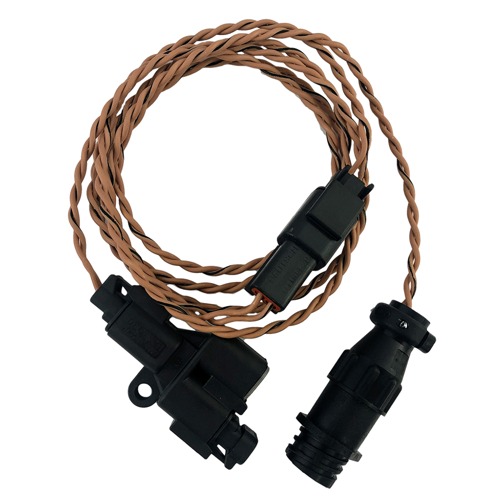 Ford Coyote Gen 1 With AIM Round Connector CAN Bus Harness Kit