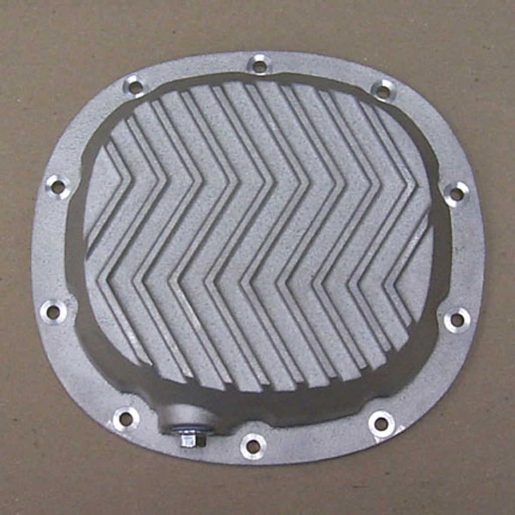 "GM 7.5"", 7.625"" Differential Cover Patterned Fins"