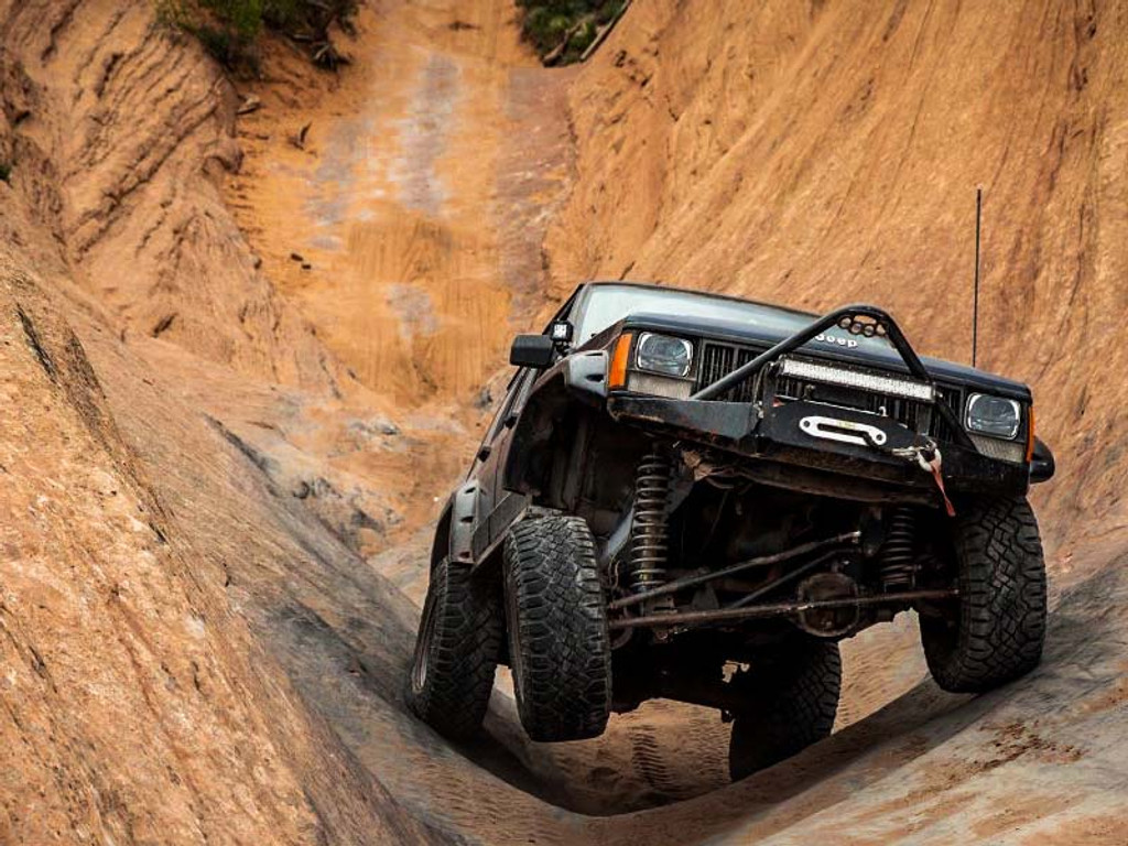 Even A Jeep Can Be Controlled!