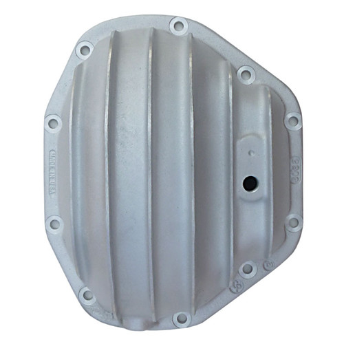 Dana 80 Rear Differential Cover, 10 Bolt, Straight Fins