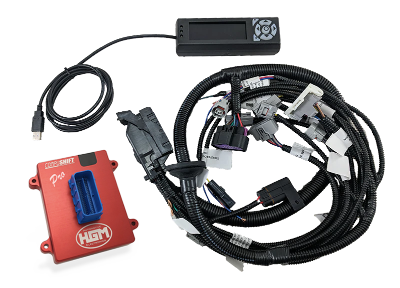 Transmission Controllers with Plug and Play Harnesses