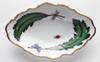 Anna Weatherley Green Leaf Oval Vegetable Dish