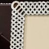 L'Objet Braid Platinum Picture Frame
