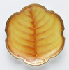 Anna Weatherley Amber Leaf Canape Plate
