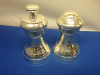 Cobell Silver Company Heavy Silver Plated Salt & Pepper Shakers (Boxed Set)